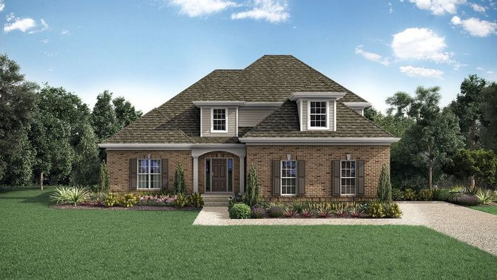 Ready To Build Home In Little Spring Farm Community