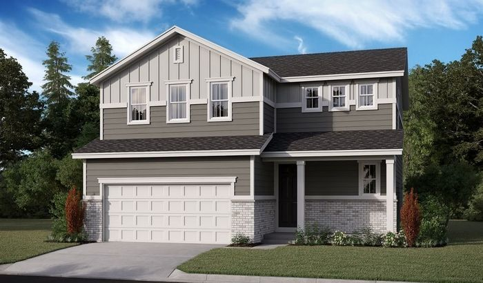 Ready To Build Home In Seasons at Mount Peak Community