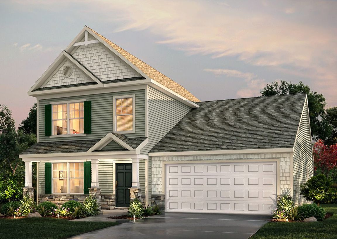 Ready To Build Home In Arlington Meadows Community