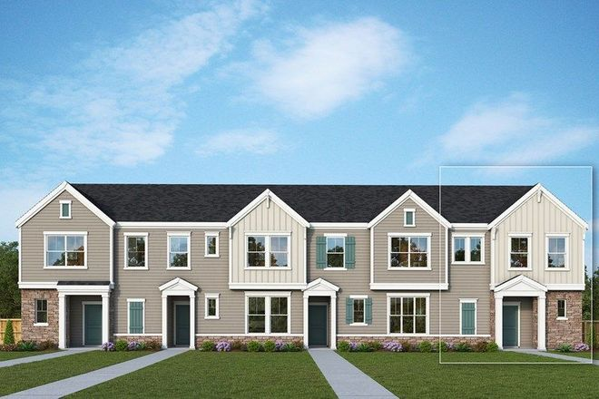 Ready To Build Home In Chadwick Park at Downtown Pineville - Townhome Collection Community