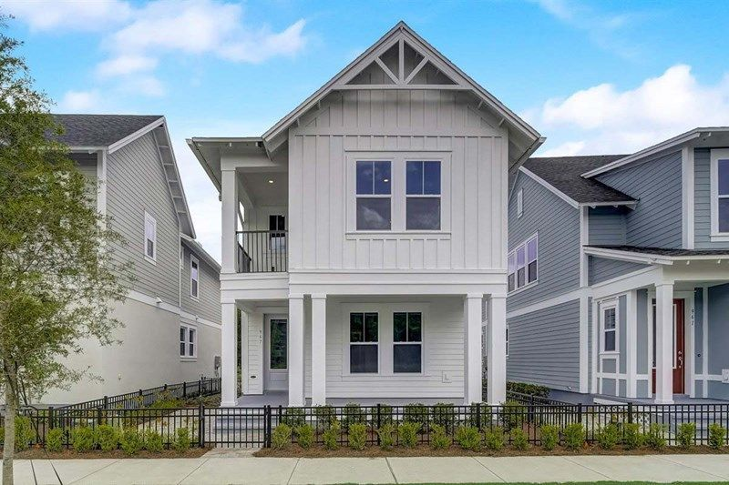 Ready To Build Home In Oakland Park - Courtyard Series Community
