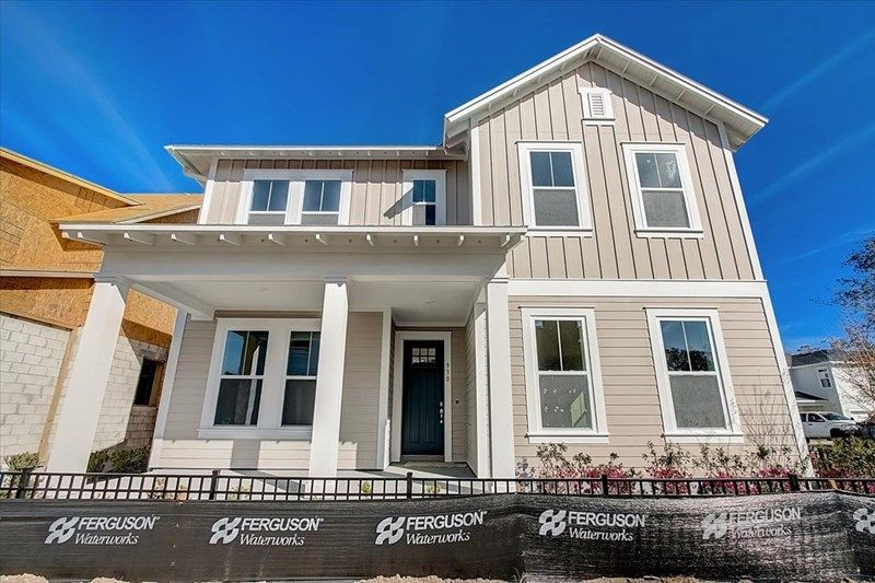 Ready To Build Home In Oakland Park - Garden Series Community