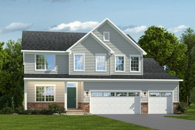 Ready To Build Home In The Landing at Grassfield Community