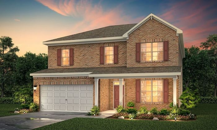Ready To Build Home In Brookhaven at Durham Lakes Community