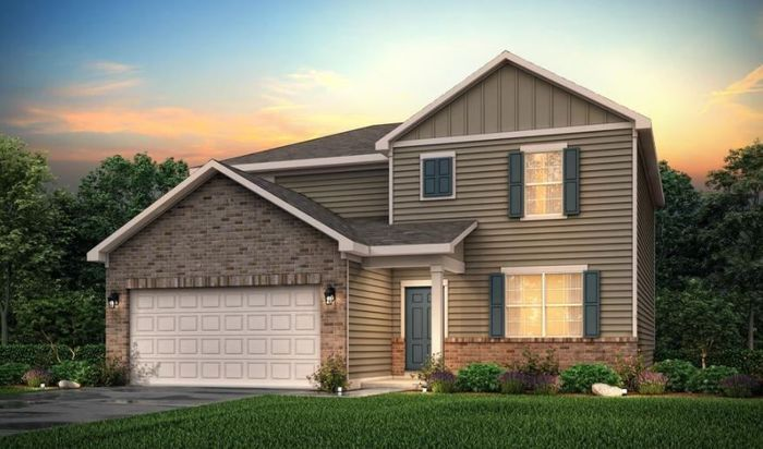 Ready To Build Home In Cedar Mill Community