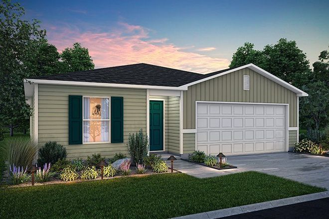 Move In Ready New Home In Twin Oaks - Lake City Community
