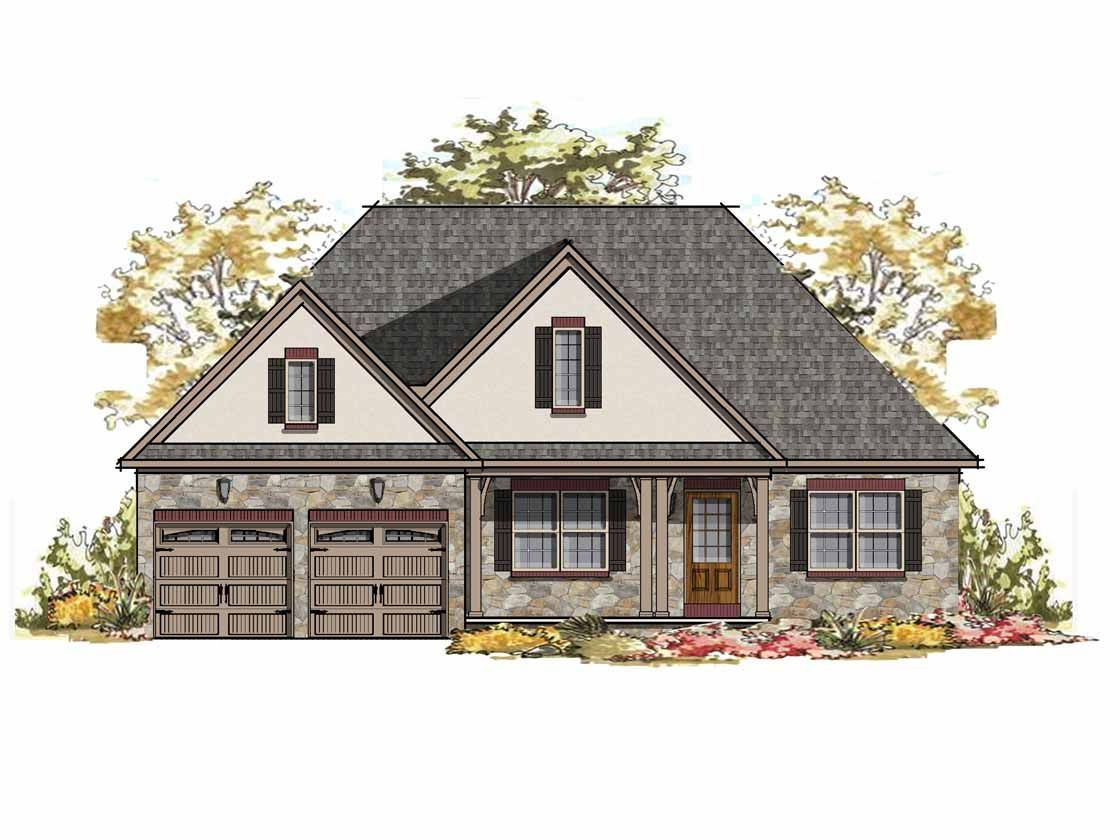 Ready To Build Home In Silver Preserve Community