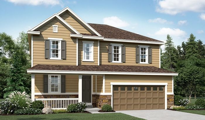 Ready To Build Home In Buffalo Grass at Homestead at Crystal Valley Community