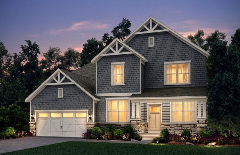 Ready To Build Home In Hidden River Community
