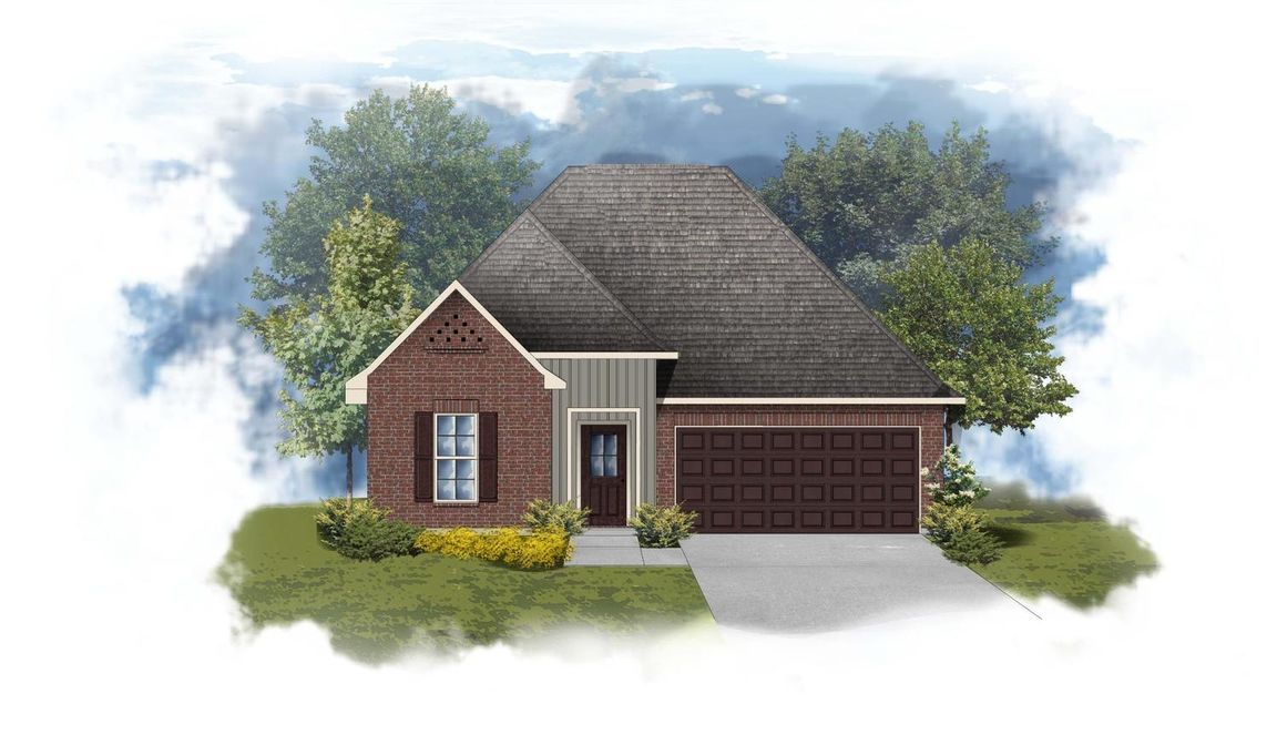 Ready To Build Home In Silver Hill Community