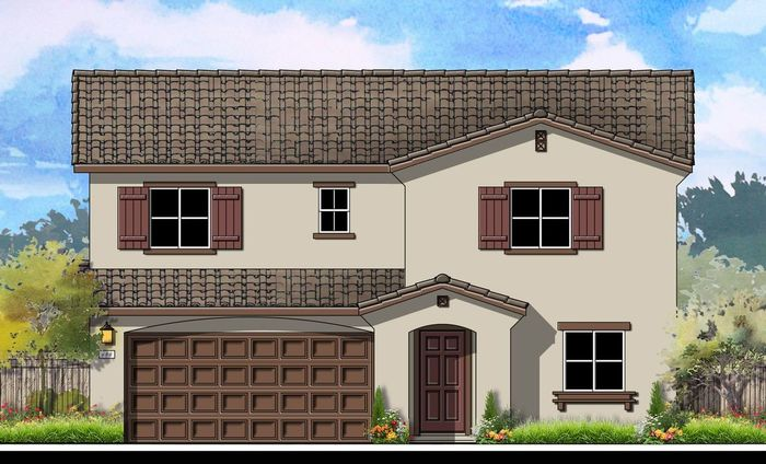 Ready To Build Home In Vista Sol Community
