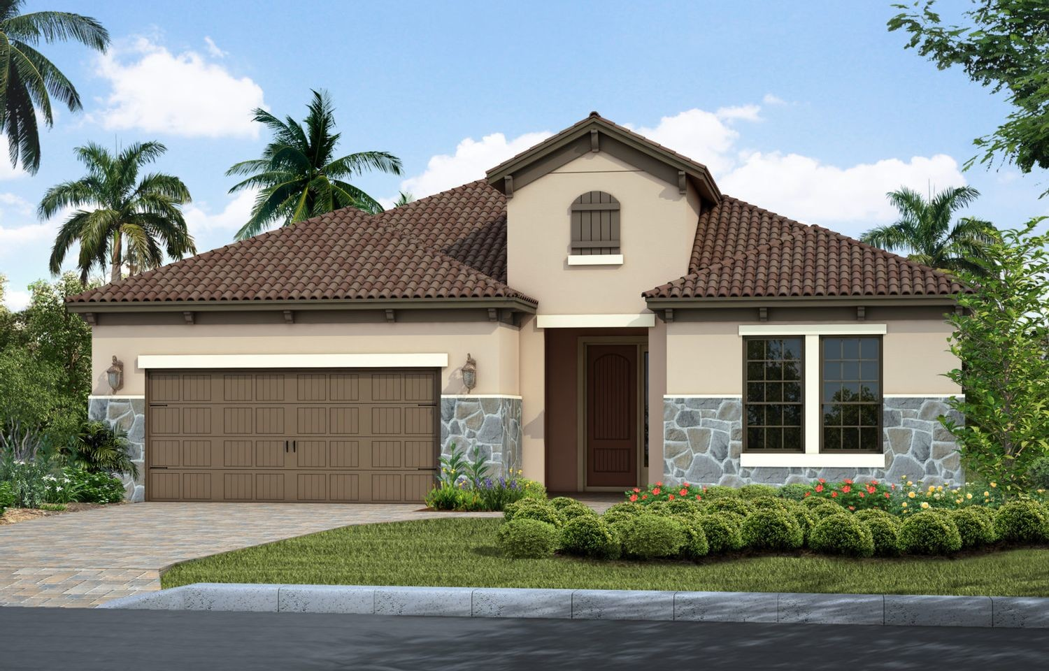 Ready To Build Home In Grand Palm Community