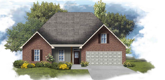Ready To Build Home In Oaklawn Trace Community