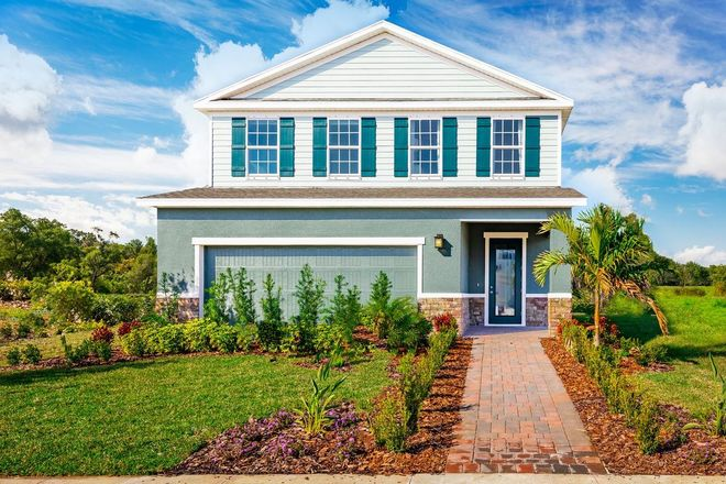 Ready To Build Home In Moss Creek Community