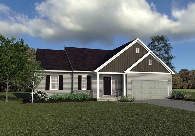 Ready To Build Home In Spring Meadow Reserve Community