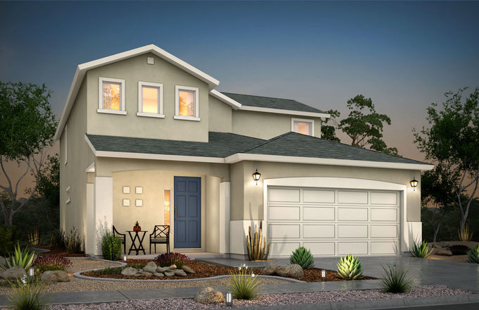 Ready To Build Home In Desert Springs Community