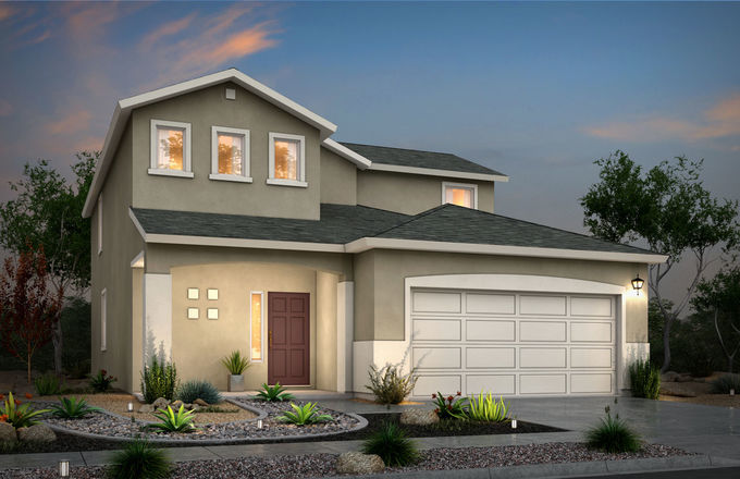 Ready To Build Home In Desert Sands Community