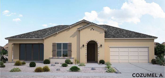 Ready To Build Home In Encore at Desert Springs Community