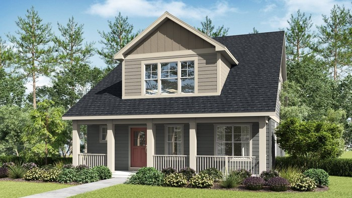 Ready To Build Home In Reed's Crossing - The Monarch Collection Community