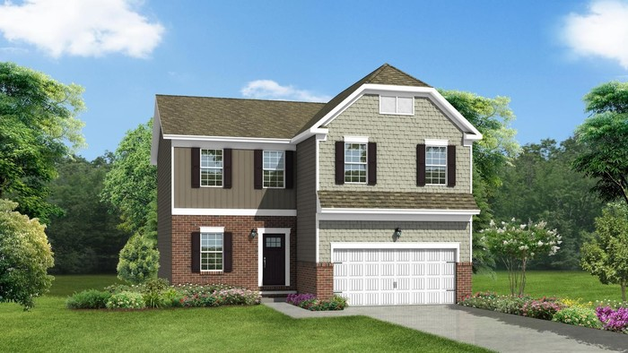 Ready To Build Home In Hollybrook Community