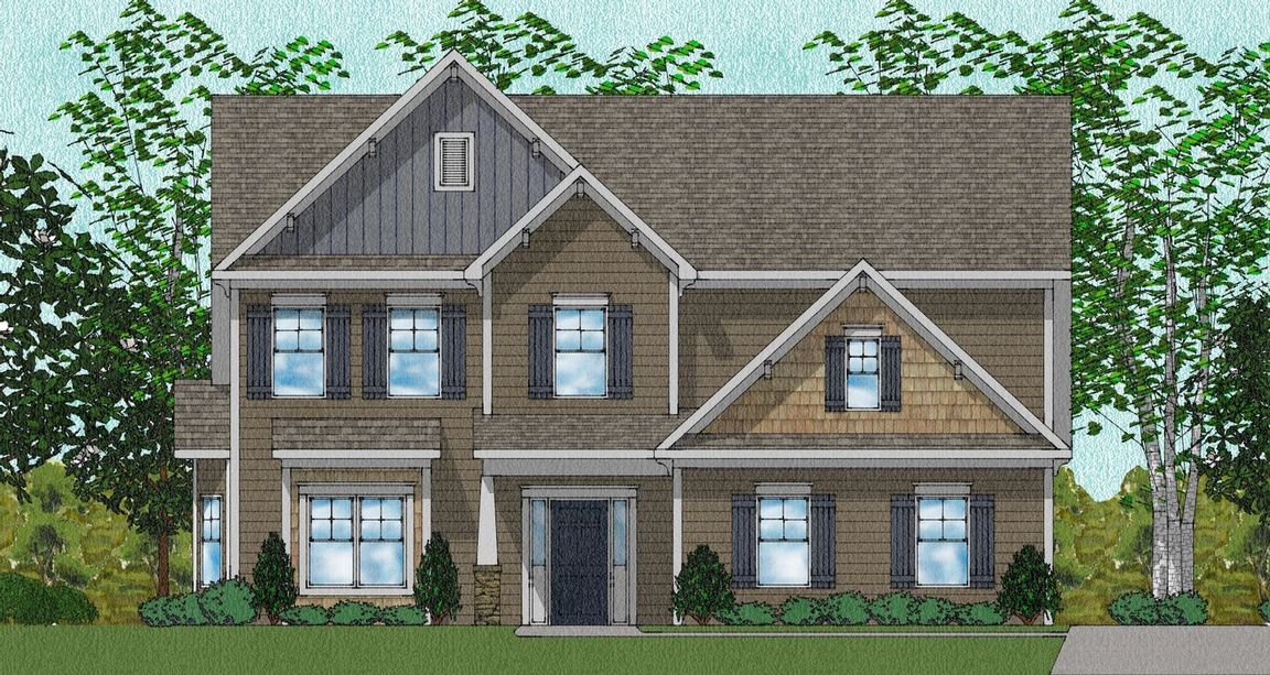 Ready To Build Home In Hays Farm - The Forge Community