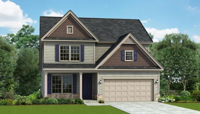 Ready To Build Home In Camellia Crossing Community