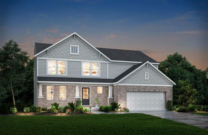 Ready To Build Home In Indy Gallery Platinum Community