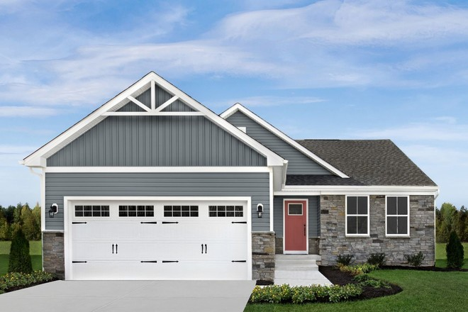 Ready To Build Home In Verona Woods 55+ Community