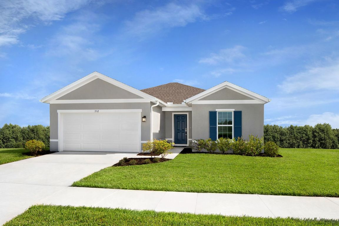 Ready To Build Home In Carriage Pointe Community