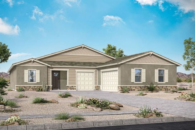 Ready To Build Home In Azure Canyon Community
