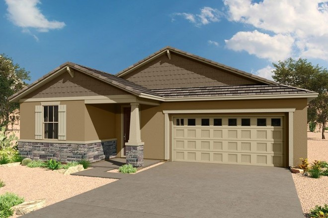 Ready To Build Home In Saguaro Trails Community