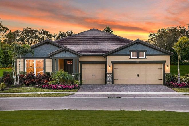 Ready To Build Home In Sunrise Preserve at Palmer Ranch Community