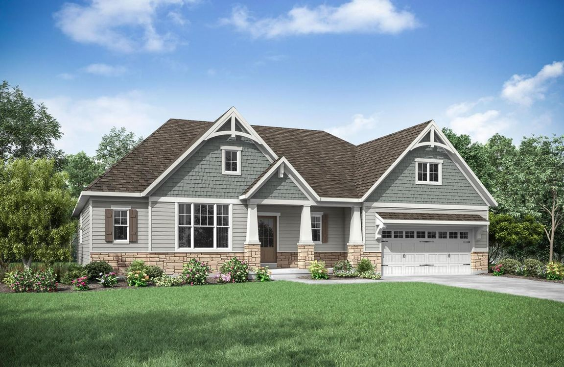 Ready To Build Home In North Ridge Pointe Community