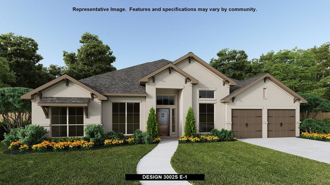 Ready To Build Home In The Colony 80' Community