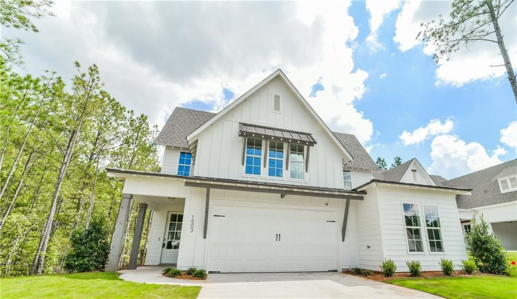 Ready To Build Home In Owens Crossing Community