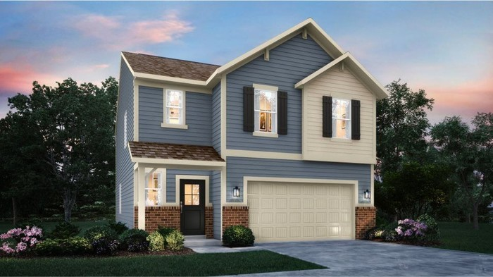 Ready To Build Home In Jackson Run Community
