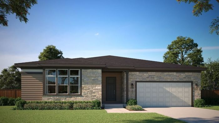 Ready To Build Home In Harvest Portfolio at Barefoot Lakes Community