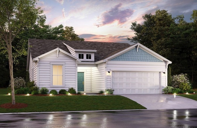 Ready To Build Home In Belle Mer Community