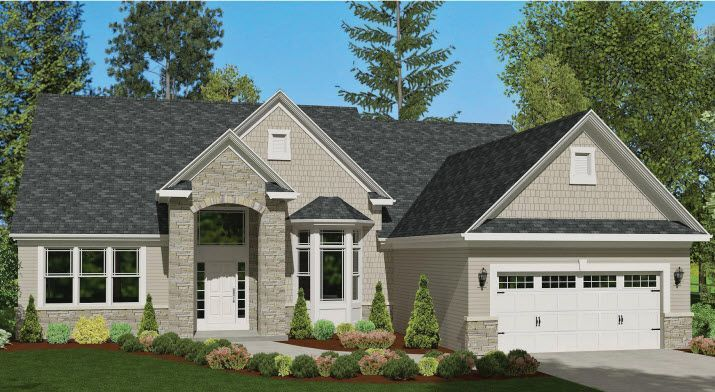 Ready To Build Home In Overlook Pointe Community