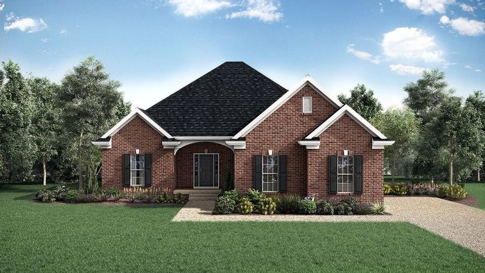 Ready To Build Home In Shakes Run Community