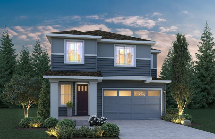 Move In Ready New Home In Ten Trails Community