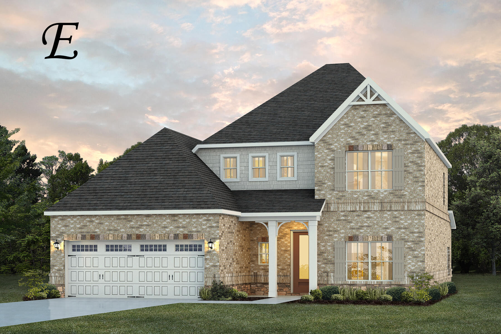 Ready To Build Home In Hidden Lakes Community