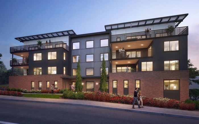 Ready To Build Home In The Lofts at 15th Community