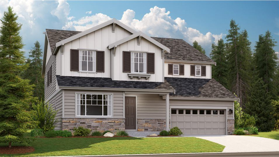 Ready To Build Home In Spring Ridge Community