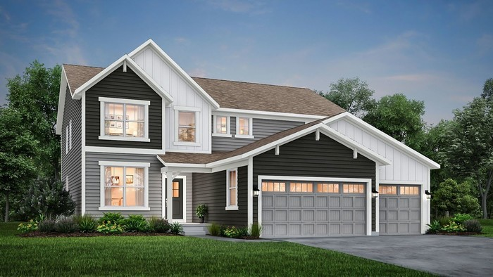 Ready To Build Home In McCord Pointe - Kingston Community