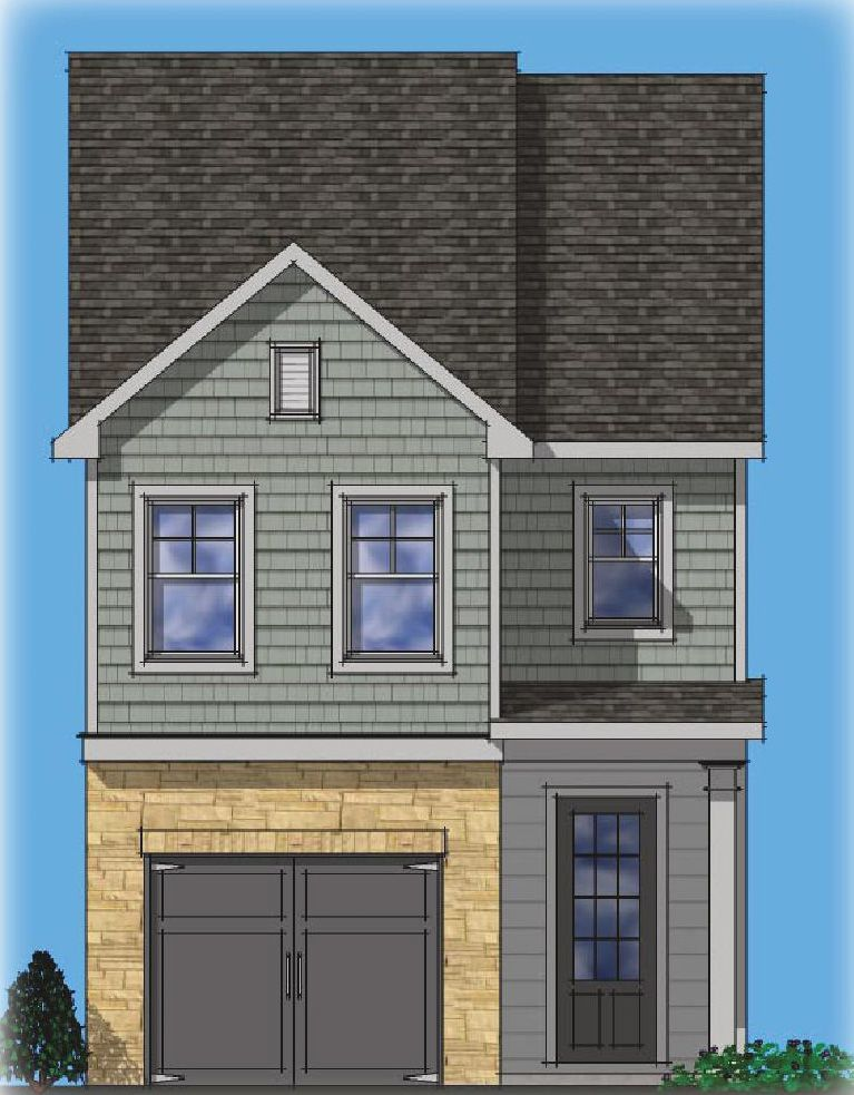 Ready To Build Home In Townes of Auburn Community