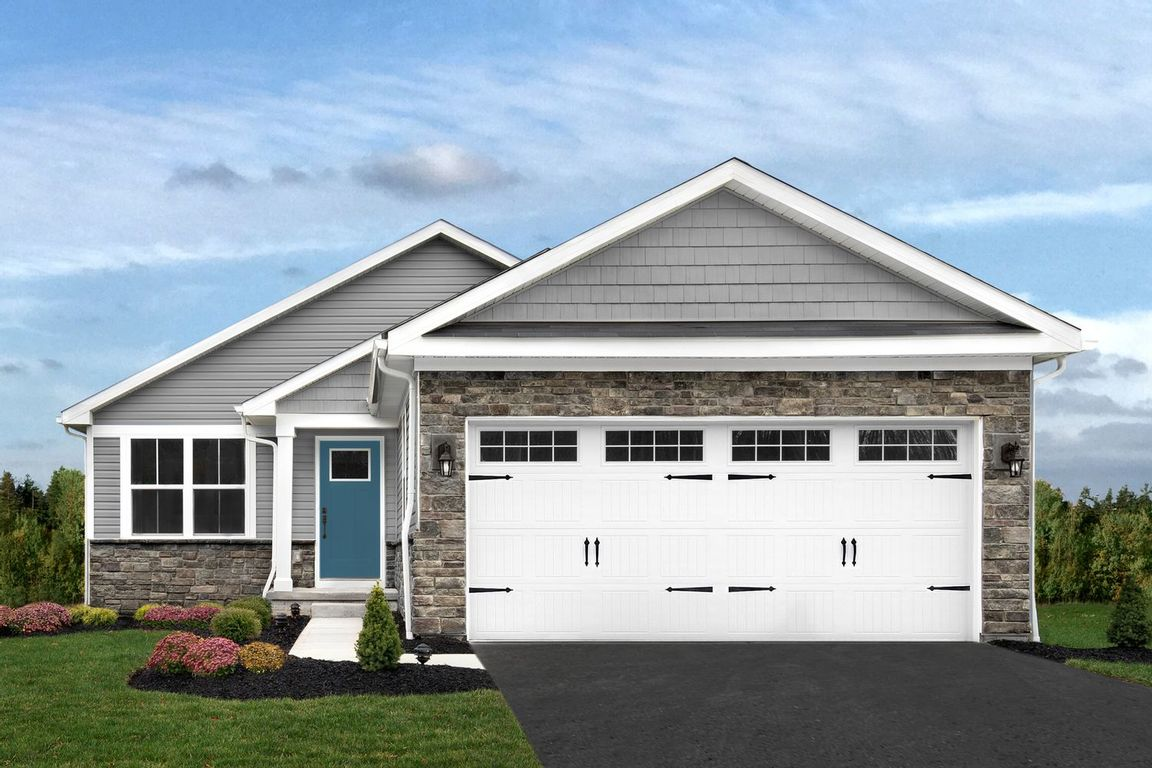 Ready To Build Home In Cardinal Pointe Ranch Homes Community
