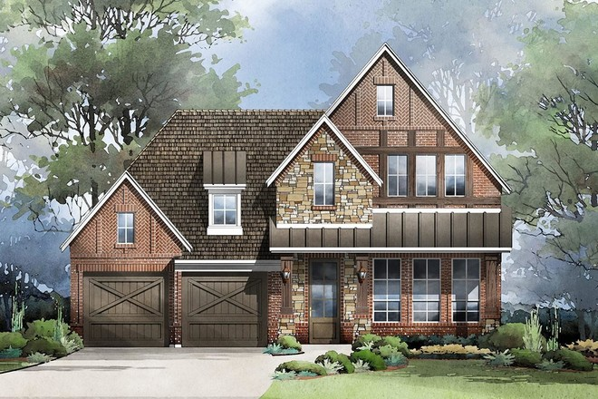 Ready To Build Home In Lake Forest Community