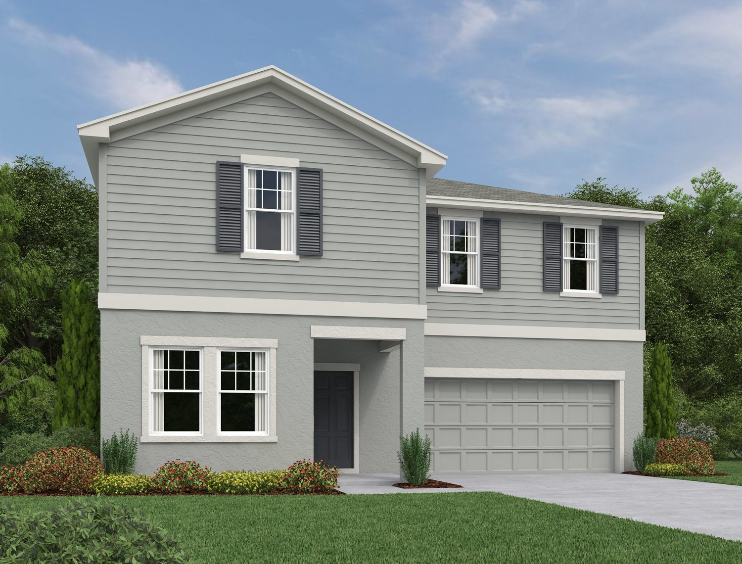 Ready To Build Home In Lincoln Oaks Community
