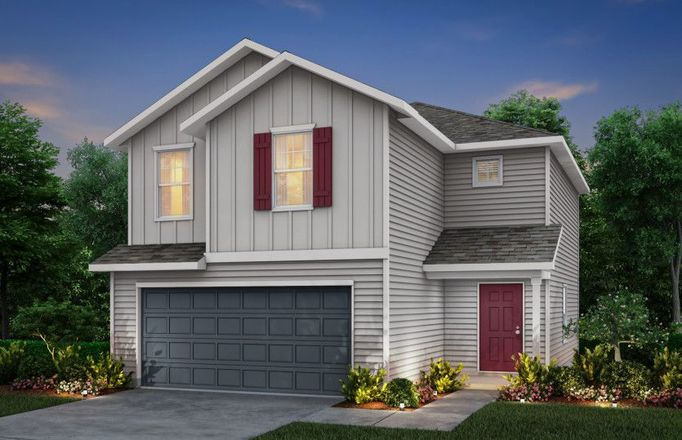 Ready To Build Home In Elley Crossing Community